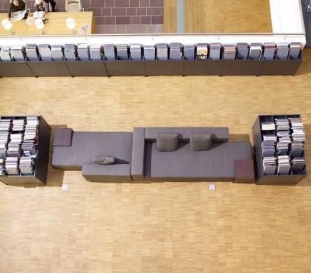 Mozaiek evenwijdig - Bibliotheek Genk